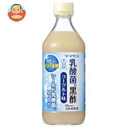 【送料無料】【2ケースセット】ヤマモリ 乳酸菌黒酢 ヨーグルト味 500ml瓶×6本入×(2ケース) ※北海道・沖縄は別途送料が必要。