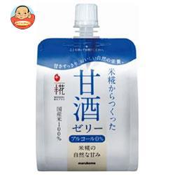 【送料無料】【2ケースセット】マルコメ プラス糀 米糀の甘酒ゼリー 160gパウチ×36(6×6)本入×(2ケース) ※北海道・沖縄は別途送料が必要。