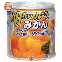 【送料無料】【2ケースセット】はごろもフーズ 朝からフルーツ みかん 190g缶×24個入×(2ケース) ※北海道・沖縄は別途送料が必要。
