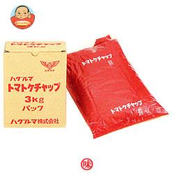 【送料無料】【2ケースセット】ハグルマ JAS標準 トマトケチャップ 3kg袋パック×4袋入×(2ケース) ※北海道・沖縄は別途送料が必要。