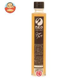 友桝飲料 n.e.o(ネオ) ジンジャーシロップ 200ml瓶×12本入