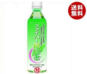 【送料無料】【2ケースセット】日本薬剤 ファイバー緑茶(ダイエットレディー) 500mlペットボトル×24本入×(2ケース) ※北海道・沖縄・離島は別途送料が必要。