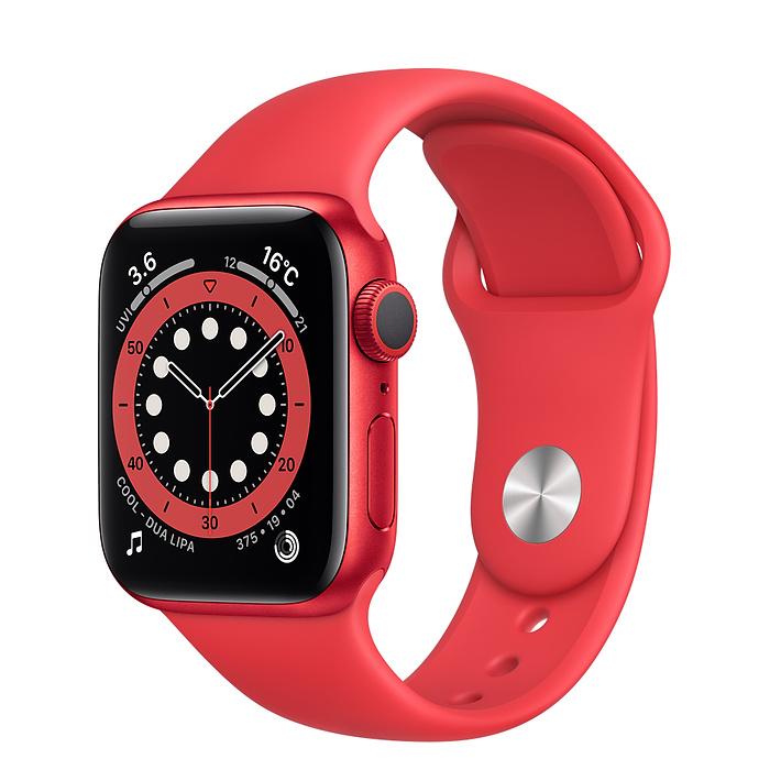 人気ブランド アップルウォッチ シリーズ6 GPS対応 Apple Watch GPS 44mm アルミケース 赤 1年保証 スマートウォッチ本体 M00M3LL A 新品 スポーツバンド ギフ_包装