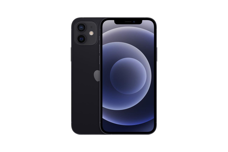 SIMフリー Apple iPhone 12 デュアルSIM 64GB LTE 黒 MGGM3ZA/A 香港版 新品 スマホ本体 1年保証