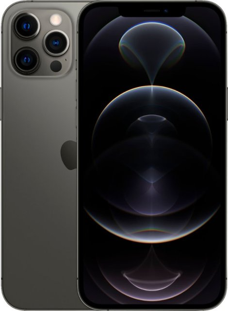 アップル アイフォーン 12 プロマックス 5G対応 SIMフリースマホ SIMフリー Apple iPhone Pro Max A デュアルSIM グラファイト 香港版 128GB MGC03ZA 5G 新品 代引き不可 1年保証 スマホ本体 売買