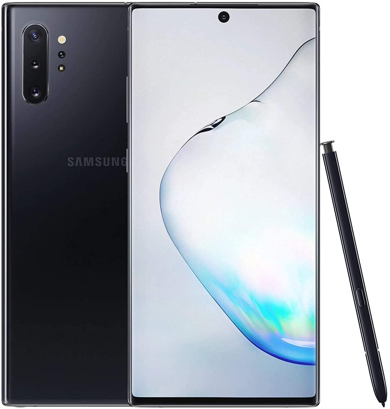 SIMフリー Samsung Galaxy Note 10 Plus N975FD Dual Sim 12GB RAM 256GB (オーラブラック) 新品 スマホ 本体 1年保証