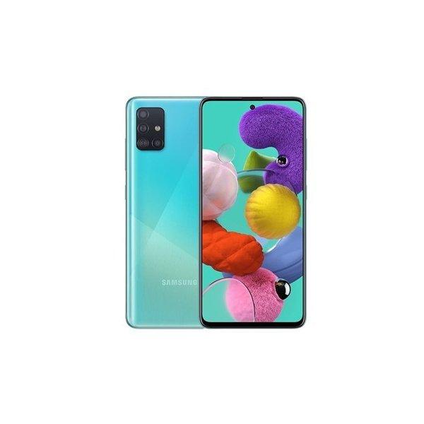 サムスン ギャラクシー A71 A715FD SIMフリースマホ Samsung Galaxy Dual 新品 128GB 1年保証 本体 RAM 毎日続々入荷 Sim 8GB [宅送] 青