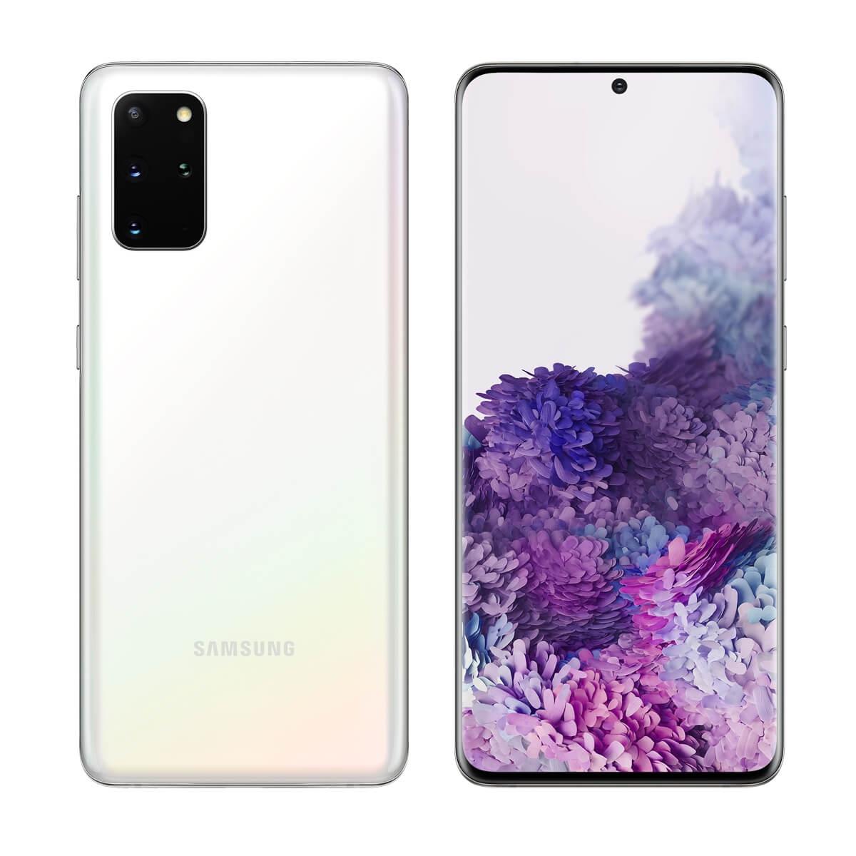Samsung Galaxy S20 Plus G9860 Dual Sim 12GB RAM 128GB 5G 白 新品 SIMフリースマホ 本体 1年保証
