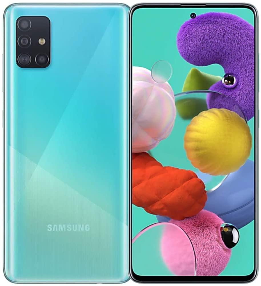 サムスン 送料無料(一部地域を除く) ギャラクシー A51 デュアルSIMフリースマホ Samsung Galaxy A515FD Dual Sim LTE RAM アウトレット☆送料無料 128GB 本体 青 SIMフリースマホ 新品 8GB 1年保証