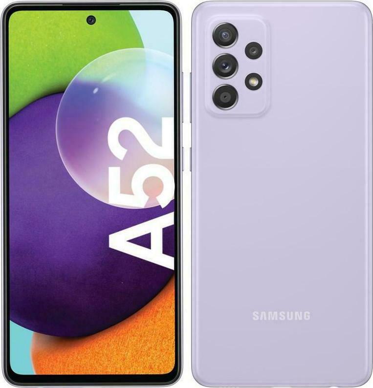サムスン ギャラクシー A52 デュアルSIMフリースマホ Samsung Galaxy A525FD Dual Sim 本体 RAM 新品 1年保証 バイオレット 256GB SIMフリースマホ 限定品 春の新作続々 8GB LTE