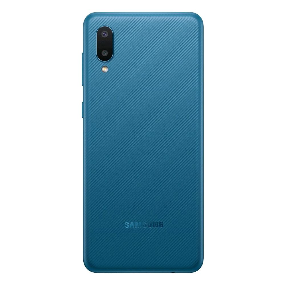 サムスン 《週末限定タイムセール》 ギャラクシー A02FD SIMフリースマホ Samsung Galaxy A02 A022FD Dual 超特価SALE開催 LTE 1年保証 3GB 32GB RAM 青 本体 新品 Sim