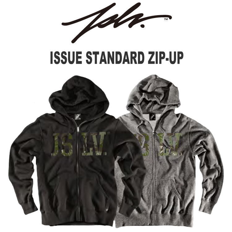 2014 JSLV(ジャスリブ) ISSUE STANDARD ZIP-UP(パーカー) 早期割引20%OFF