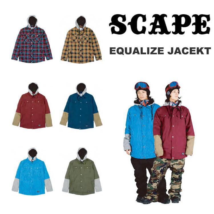 【即納】14-15 SCAPE(エスケープ) EQUALIZE JACKET / [SALE 60%OFF] 【送料無料】【代引手数料無料】【smtb-k】【ky】