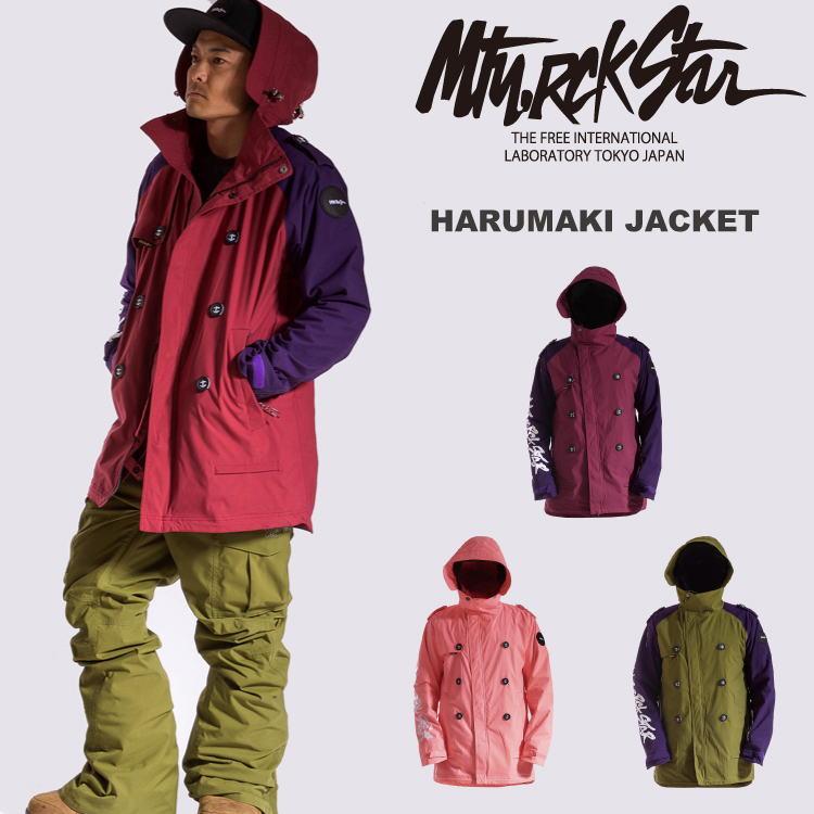 15-16 MTN,ROCK STAR [マウンテンロックスター] HARUMAKI JACKET / 早期割引45%OFF 【送料無料】【代引手数料無料】