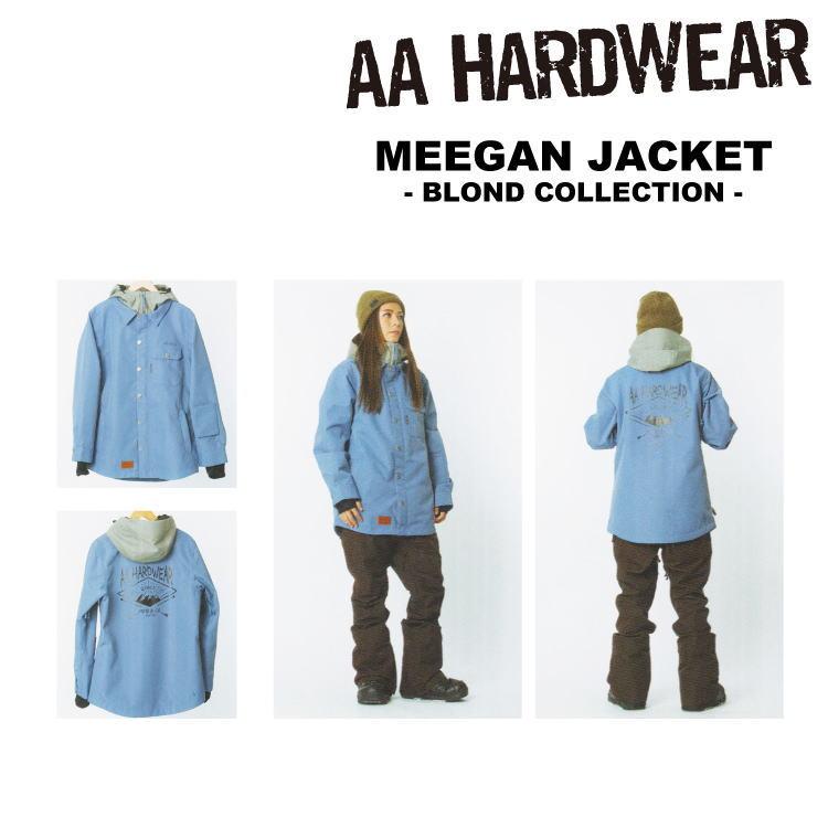 【即納】16-17 AA HARDWEAR(ダブルエーハードウェア)MEEGAN JACKET -ARROW- [BLOND COLLECTION][SALE 45%OFF]【送料無料】【代引き手数料無料】