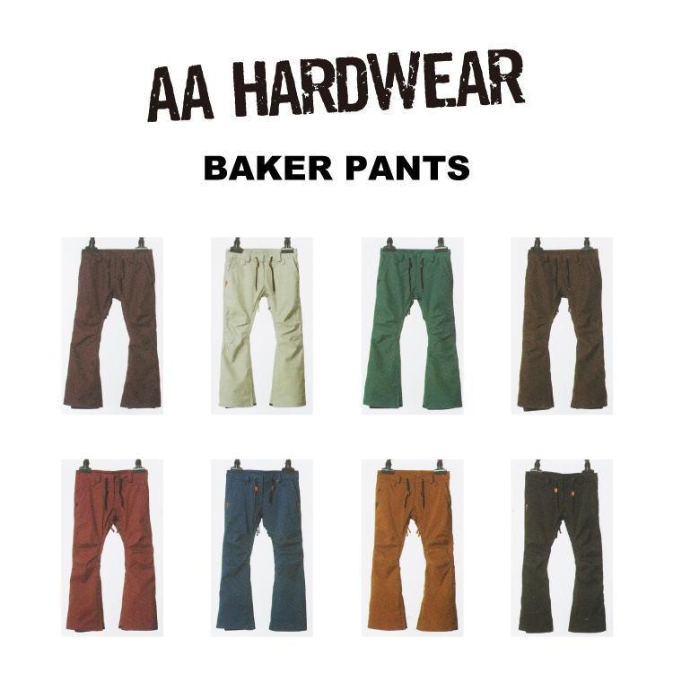 【55%OFF】16-17 AA HARDWEAR(ダブルエーハードウェア)BAKER PANTS / スノーボード ウェア レディース パンツ【送料無料】