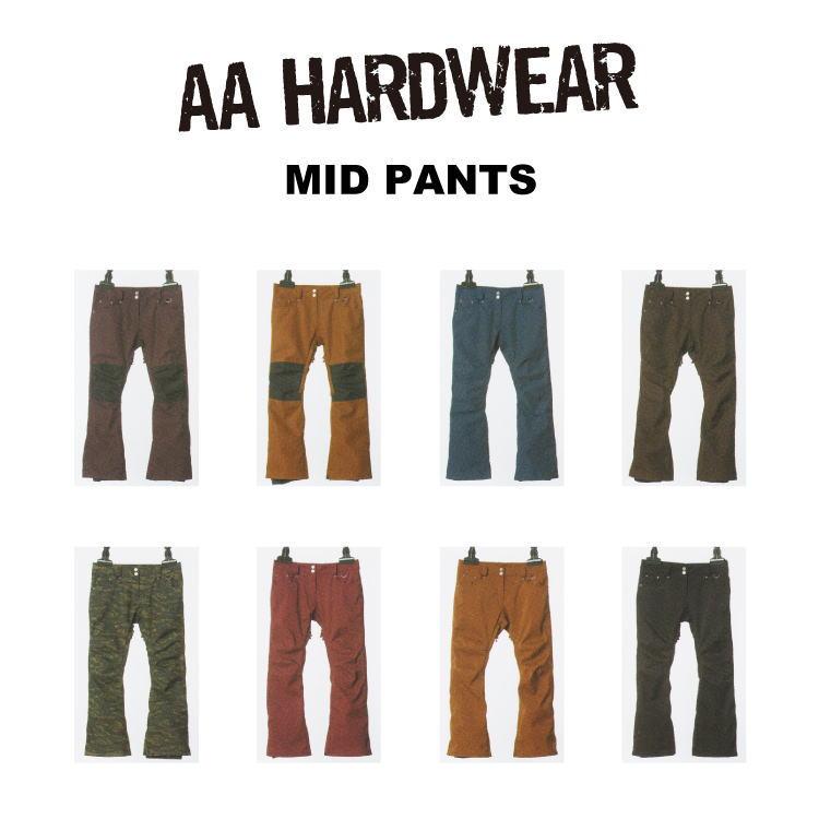 【55%OFF】16-17 AA HARDWEAR(ダブルエーハードウェア)MID PANTS / スノーボード ウェア レディースパンツ セール【送料無料】