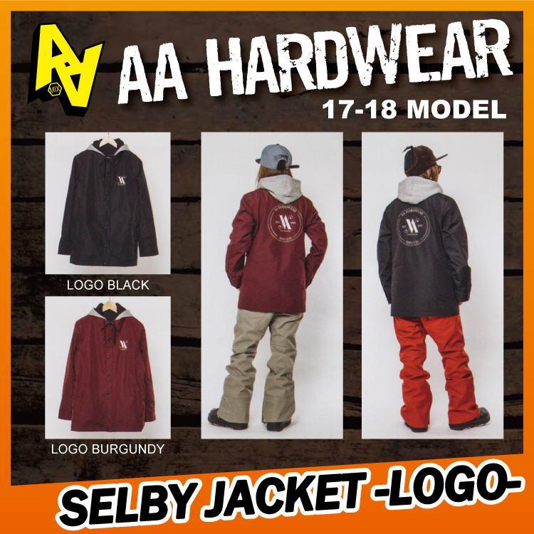 【即納】17-18 AA HARDWEAR(ダブルエーハードウェア) SELBY JACKET -LOGO- [ロゴ/コーチ] 【期間限定30%OFF】【送料無料】【代引き手数料無料】【日本正規品】