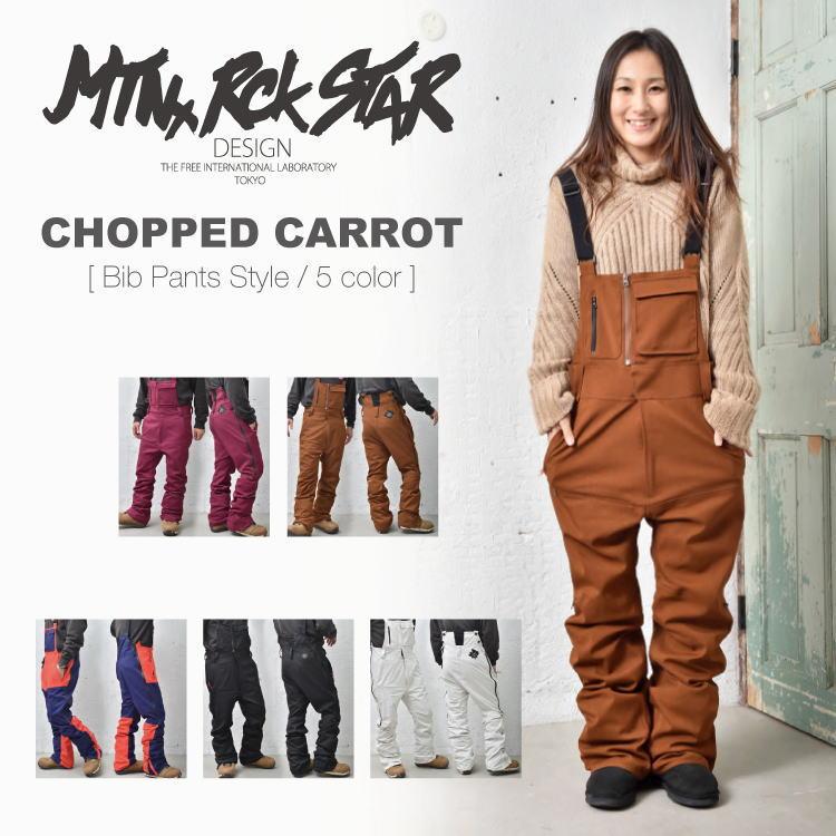 【35%OFF】17-18 マウンテンロックスター / MTN.ROCK STAR CHOPPED CARROT PANTS / スノーボード ウェア パンツ サロペット オーバーオール 【送料無料】【代引手数料無料】【日本正規品】
