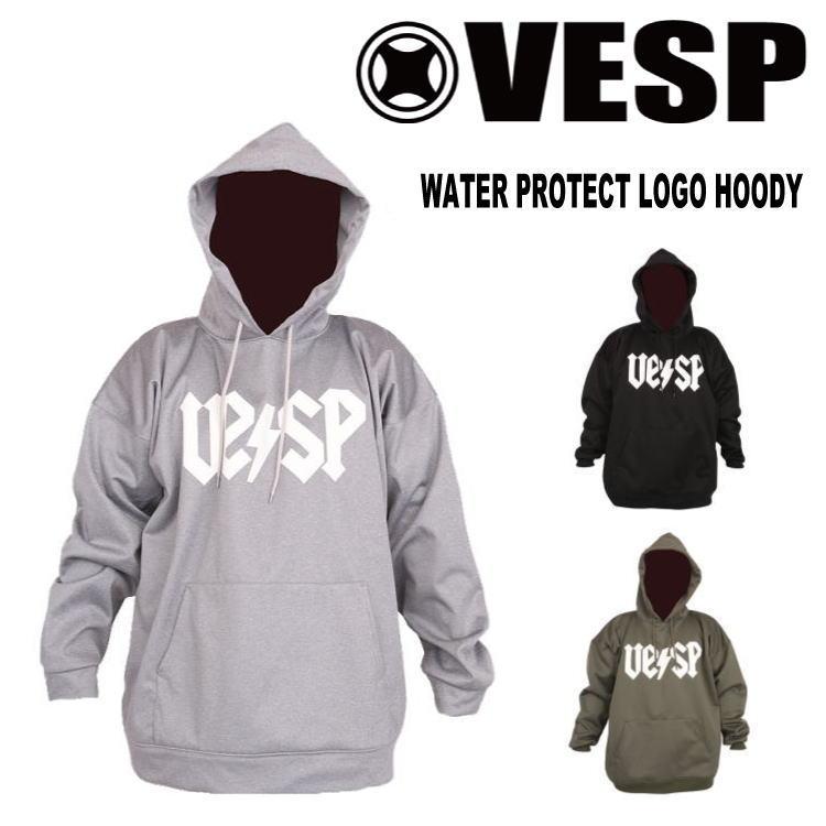 【30%OFF】17-18 VESP (ベスプ) WATER PROTECT LOGO HOODY (スノーボードパーカー) 【送料無料】【日本正規品】