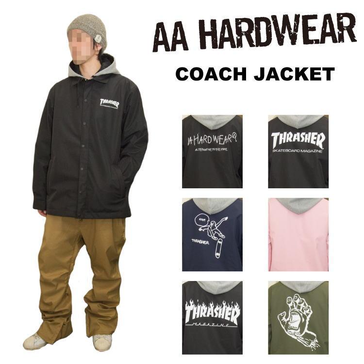 【40%OFF】18-19 AA HARDWEAR(ダブルエーハードウェア) COACH JACKET [コーチジャケット] / スノーボード ウェア ジャケット セール 【送料無料】【代引き手数料無料】【日本正規品】