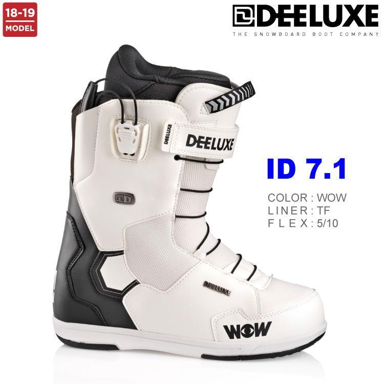 【即納】18-19 DEELUXE (ディーラックス) ID 7.1 TF -WOW- / 早期予約割引25%OFF 【送料無料】【代引手数料無料】【正規品】