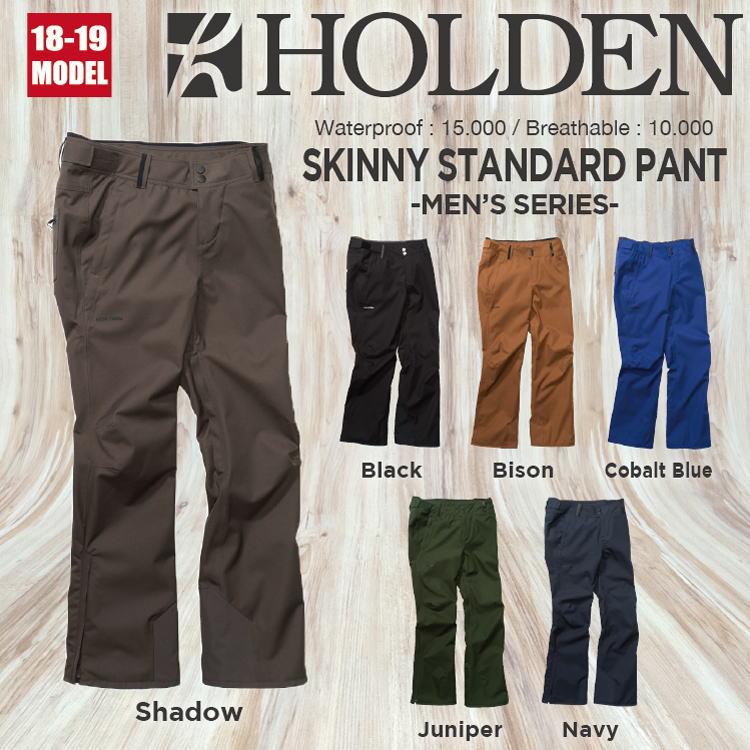 18-19 HOLDEN (ホールデン) M's SKINNY STANDARD PANT 早期予約割引10%OFF (ウェア) 【送料無料】【代引き手数料無料】【日本正規品】