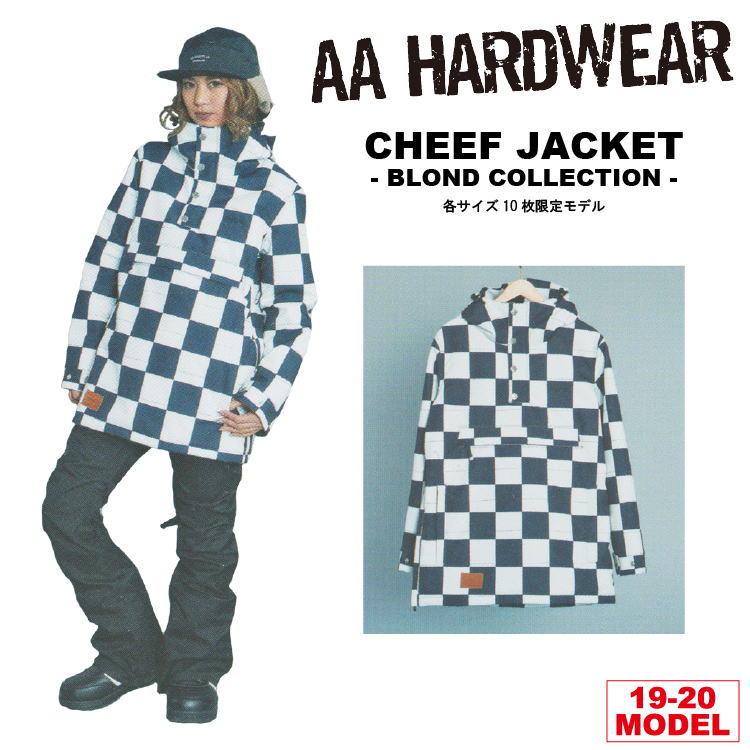 19-20 AA HARDWEAR(ダブルエーハードウェア)  CHEEF JKT -BLOCK- [BLOND COLLECTION LTD] 【送料無料】【代引き手数料無料】【日本正規品】