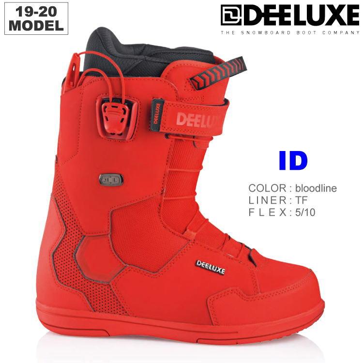 【25%OFF】19-20 DEELUXE (ディーラックス) ID TF -BLOODLINE- 25.5cm 26.5cm サーモインナー (スノーボードブーツ) 【送料無料】【代引手数料無料】【正規品】