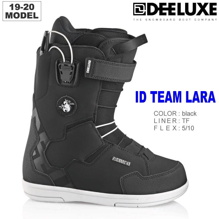 19-20 DEELUXE (ディーラックス) ID TEAM LARA TF -BLACK- / 早期予約割引10%OFF 【送料無料】【代引手数料無料】【正規品】