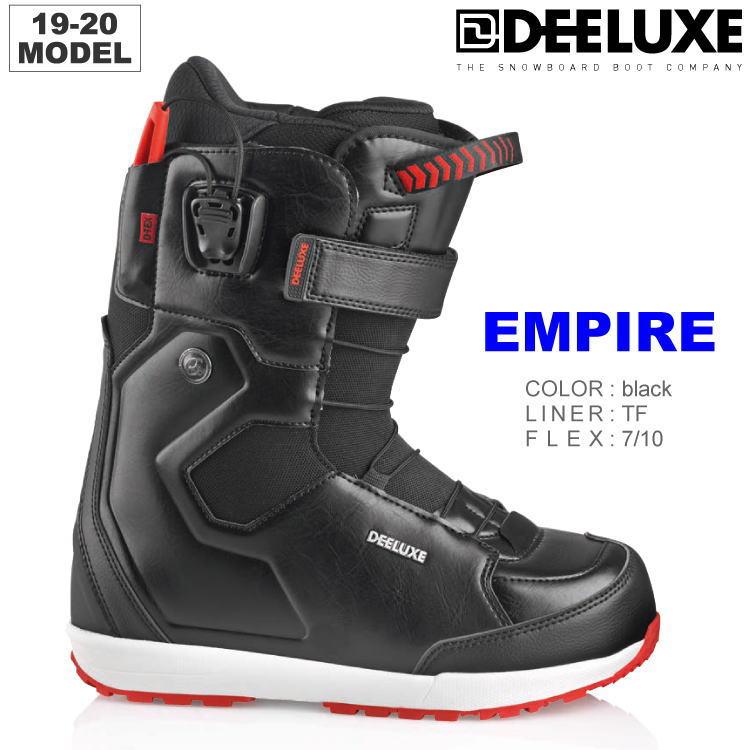 19-20 DEELUXE (ディーラックス) EMPIRE TF -BLACK- / 早期予約割引10%OFF 【送料無料】【代引手数料無料】【正規品】