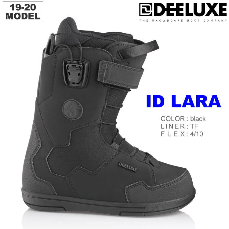 【36%OFF】19-20 DEELUXE (ディーラックス) ID LARA TF -BLACK- (スノーボードブーツ) 【送料無料】【代引手数料無料】【正規品】