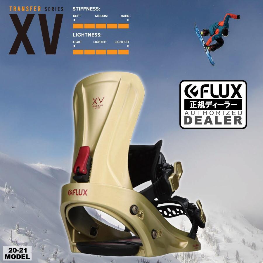 20-21 FLUX (フラックス) XV (エックスブイ) 早期予約開始 / デッキ保護シートプレゼント (バインディング スノーボード カービング ビンディング フリーライド)【送料無料】【代引手数料無料】【正規品】