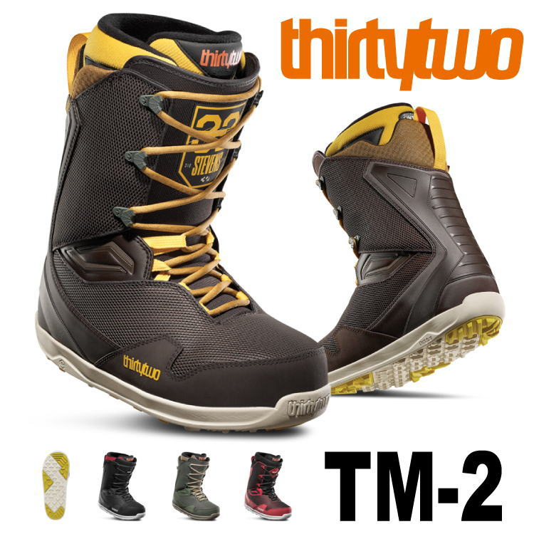 19-20 THIRTYTWO 32 TM-2 (サーティトゥー) 早期予約割引10%OFF (ブーツ) 【日本正規品】【送料無料】【代引手数料無料】