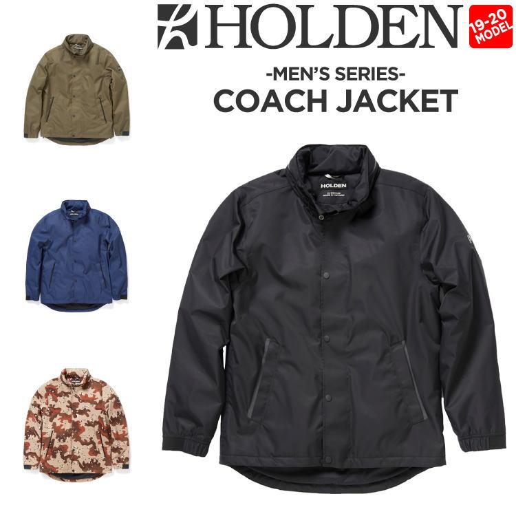 19-20 HOLDEN (ホールデン) M's COACH JACKET / 早期予約割引10%OFF (ウェア) 【送料無料】【代引き手数料無料】【日本正規品】