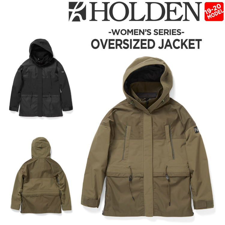 19-20 HOLDEN (ホールデン) W's OVERSIZED PARKA / 早期予約割引10%OFF (ウェア) 【送料無料】【代引き手数料無料】【日本正規品】