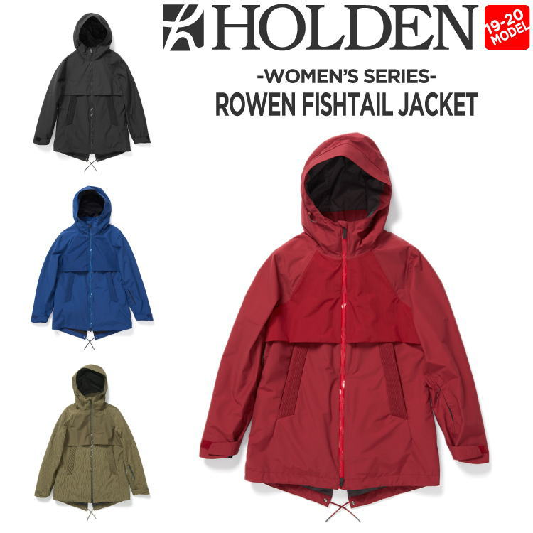 19-20 HOLDEN (ホールデン) W's ROWEN FISHTAIL JACKET / 早期予約割引10%OFF (ウェア) 【送料無料】【代引き手数料無料】【日本正規品】