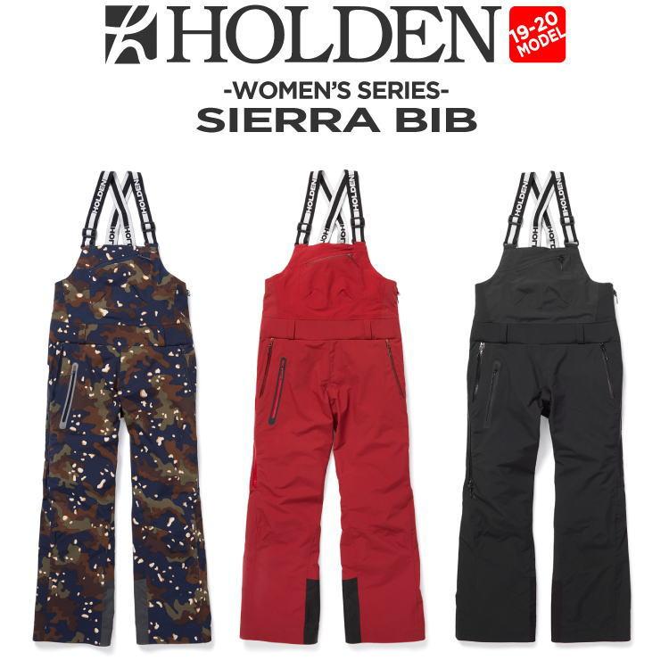 19-20 HOLDEN (ホールデン) W's SIERRA BIB / 早期予約割引10%OFF (ウェア) 【送料無料】【代引き手数料無料】【日本正規品】