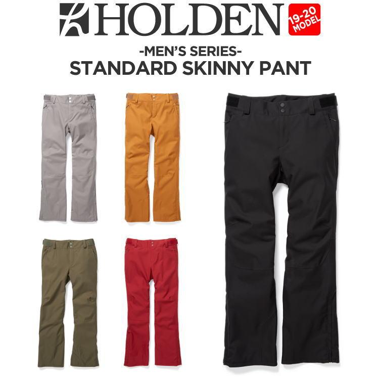 19-20 HOLDEN (ホールデン) M's STANDARD SKINNY PANT / 早期予約割引10%OFF (ウェア) 【送料無料】【代引き手数料無料】【日本正規品】