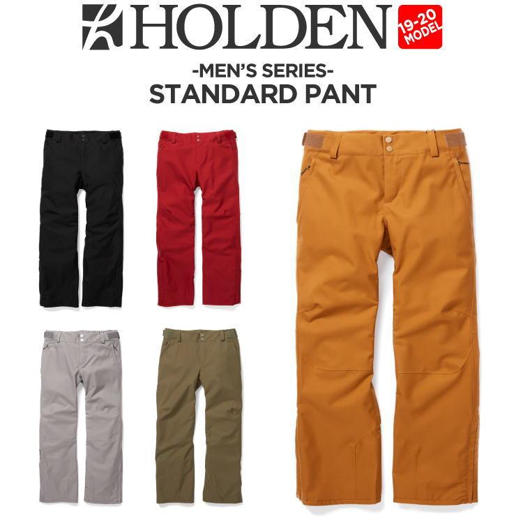 19-20 HOLDEN (ホールデン) M's STANDARD PANT / 早期予約割引10%OFF (ウェア) 【送料無料】【代引き手数料無料】【日本正規品】