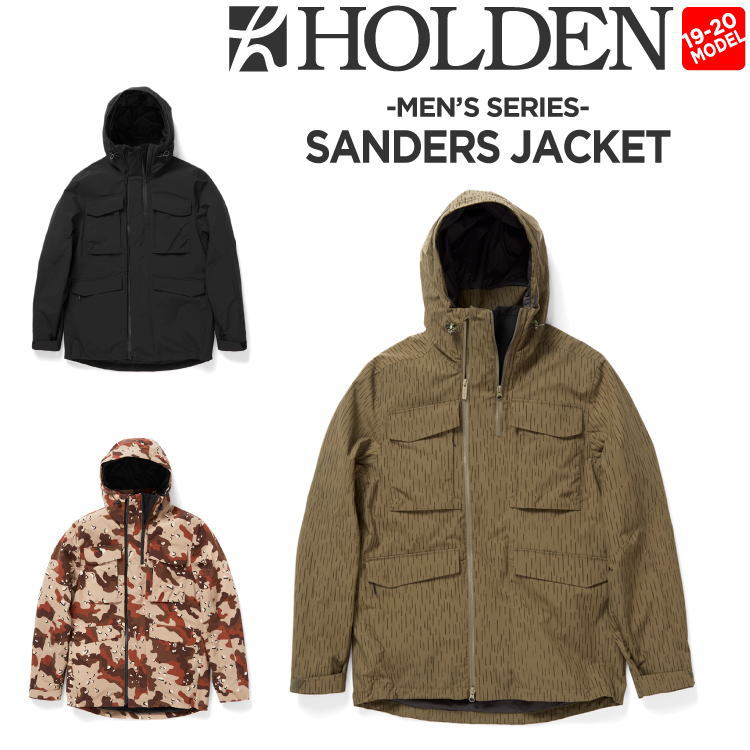 19-20 HOLDEN (ホールデン) M's SANDERS JACKET / 早期予約割引10%OFF (ウェア) 【送料無料】【代引き手数料無料】【日本正規品】