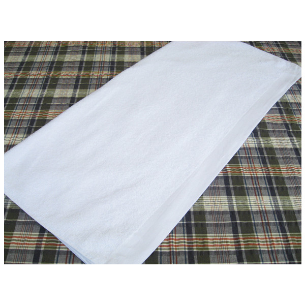 1000匁 バスタオル (約 68×132cm) 白 12枚セット 【業務用】
