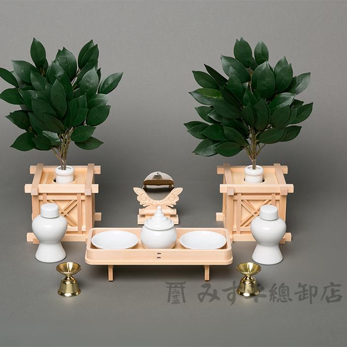 神具セット 榊枠(並) 棚板 神棚 日本製 国産