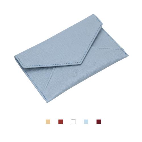 【Pineider】ピネイダー・CITY CHICコレクション 名刺入れ Business card holder envelope shaped ベージュ ボルドー ホワイト ライトブルー プラム送料無料 ラッピング無料 ピナイダー