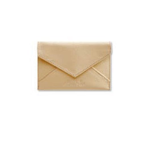 【アウトレット品】【Pineider】ピネイダー・CITY CHICコレクション 名刺入れ Business card holder envelope shaped ベージュ 送料無料 ラッピング無料