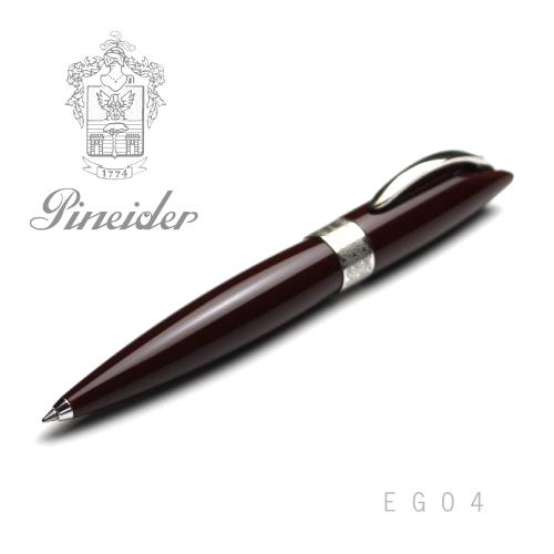 【アウトレット品】Pineider ピネイダー EGO4 ブラウン ボールペン ペン T.MORO 送料無料 エゴ4
