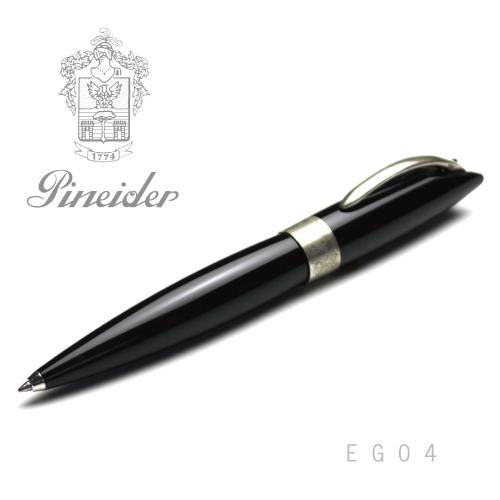 【アウトレット品】Pineider ピネイダー EGO4 ネロ ブラック ボールペン ペン NERO 送料無料 エゴ4