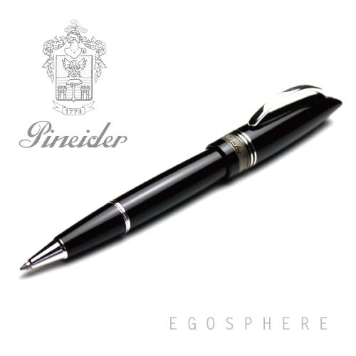 【アウトレット品】Pineider ピネイダー EGOSPHERE ネロ(ブラック) ローラーボール ペン NERO 送料無料 エゴスフィア