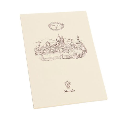 【Pineider】ピネイダー FLORENTIA ノートパッド 50シート 送料無料 ラッピング無料Note pad 50 sheets A4 21×30