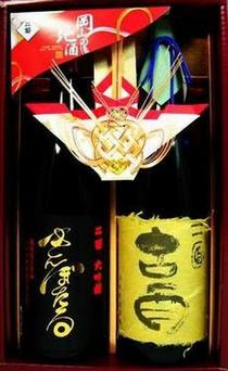 【蔵元直送】極上のギフト拾年熟成古酒・金蛍(大吟醸酒)1.8Lギフトセット